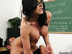 Kendra Lust is so wet and so horny that fucks with Johnny Castle like a sex crazed animal