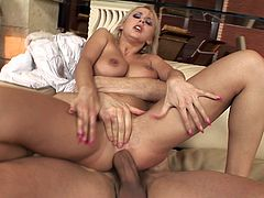 Ian Scott is banging with busty Mandy Dee