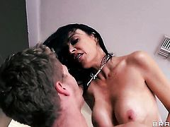 Vanilla Deville shows her slutty side to hard dicked guy Michael Vegas