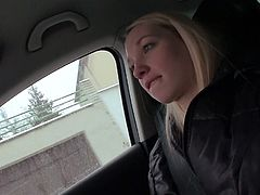 Light haired mouth fuck dreaming sizzling tramp sharply unbuttoned zipper and provided her bellowed due with nice deep throat blowjob right in car. Watch this hot blond head slut in Mofos Network porn clip!