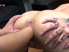 Look ath this curvy bodies in oil. What can be more sexy than it, dude? I think nothing can't. Watch on this fisting in Filthy and Fisting xxx video!