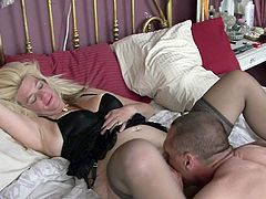 Nasty mom decides to try out her daughter's boyfriend in a good fuck