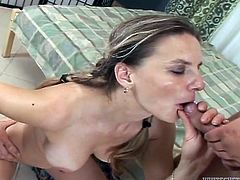 Get a load of this amazing compilation video where all of these horny ladies get covered by cum after being fucked.