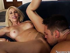 Johnny Castle is ready to make hot Erica Laurens every sex dream come true