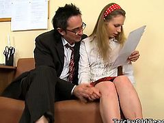 Grace is skillful slut but a bad student