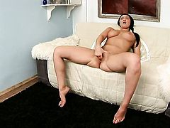 Vanessa Vaughn gives pleasure to herself using her fingers