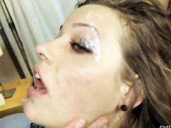 Kimberly Kane cant resist the desire to take Dane Crosss rock solid love stick in her bum