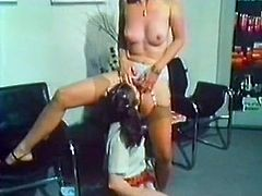 At first this dark haired chubby babe came to get her hungry twat properly snatched and only then to be treated. Her doctor took into consideration her wish and gave her nice missionary pose loping. Watch this saucy babe in The Classic Porn sex clip!