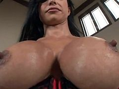 Busty slut Jewels Jade is fucking hardcore