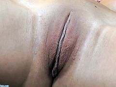 Angelica Heart with huge jugs cant stop fingering her wet hole