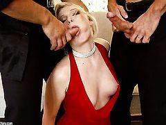 Blonde Lucy Heart had her butt hammered a hundred times but wants some more