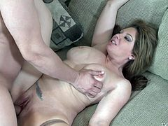 Hardcore action in this reality scene. Starring Kiki Daire and Tommy Pistol. Wonderful closeup action with cowgirl, doggystyle, and missionary positions.