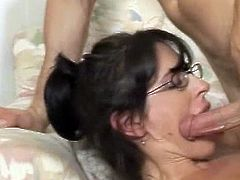 Amazing milf Druuna goes nasty during top hardcore fuck along her step son