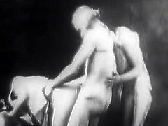 Nasty babes are having intense pleasures during top vintage hardcore porn sessions