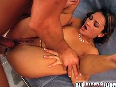 This is a hot and free porn video only on our free porn site! Sizzling Jennifer will be moaning loud to be dicked in some poses.