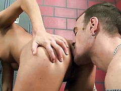Nikki Daniels makes her dirty dreams a come to life with dudes meat stick in her mouth