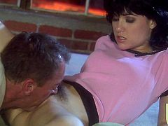 She Gives Him a Handjob and Swallows His Sticky Cum