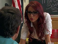Classroom fuck with big boobed Madison Ivy and Monique Alexander