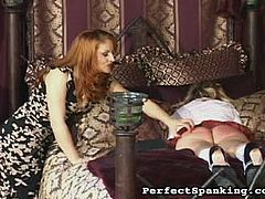 Mistress Gemini gets nasty when a young slut gets sent to her punishment office. Witness the severe corporal discipline, paddling and devastating caning...