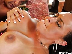 Jack Lawrence buries his rock solid meat stick in playful Mariah Milanos slit