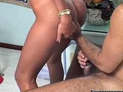 Long haired dark head filthy voracious hooker stretched her legs wide and let her thirsting NF lick her saggy moist pussy. A little later she gave him harsh bj...Look at this horny guys in Fame Digital sex clip!
