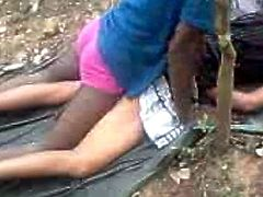 Hot indian Girl got Outdoor fucking with her BF-II