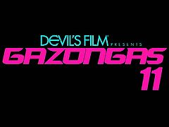 Take out your big guns because its time for some big titty action with this clip brought to you by Devilsfilm; Gazongas #11. The hottest pornstars, the biggest and sexiest boobs right at your finger tip!