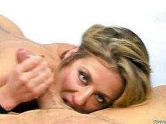 Sheena Shaw is good at man meat sucking and loves it