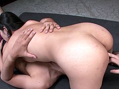 Hot oriental chick Eririka likes it hotter and harder and gets her hairy pussy licked and fucked missionary and doggy style. Don't skip top rated Jav HD sex tube video for free.