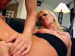 Scrumptious Judith Gets Her Pussy Fingered After Going Hardcore