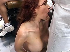 Press play on this hardcore scene and watch the slutty Bailey O'Dare end up filled by cum after being gangbanged by big fat cocks.