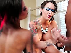 Bonnie Rotten  Ashton Pierce gives unthinkable sexual pleasure to horny guy Marco Banderas