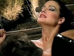 Classy brunette sexpot Jeanna Fine gives hot blowjob to her lover