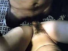 Horny and filthy bitch with nice ass gets drilled in doggystyle meanwhile sexy blonde whore with nice body gets her dripping cunt fucked. Have a look in steamy The Classic Porn sex clip.