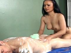 Asian chick Mya Luanna fucks in doggy style