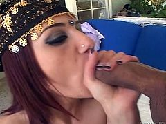 Get a load of this hardcore POV where a sexy Indian babe ends up with her mouth filled by cum after sucking and fucking a big cock.