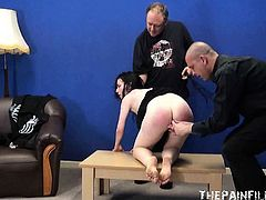 Extreme brutal blowjob and whipping of bdsm slut Faye
