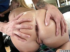 Katja Kassin with big booty and horny dude enjoy sex too much to stop