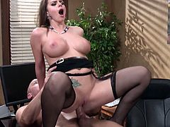 Delightful Brooklyn Chase Serves A Titjob Before Going Hardcore