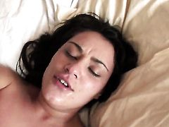 Manuel Ferrara gives dangerously seductive Charley Chases mouth a try in oral action