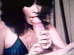Kinky and slutty whore with nice body and dark hair gets her dripping pussy licked and drilled. Have a look in steamy The Classic porn xxx clip.