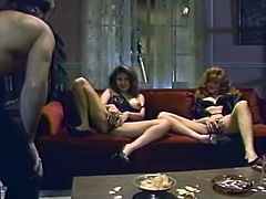 Slutty and kinky bitches with good shapes and bodies gets their clits licked and drilled. Watch in steamy The Classic Porn xxx clip.