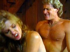 Kinky and horny bitch with blond hair and nice body sucks the dick and gets drilled in doggystyle. Have a look in steamy The Classic Porn xxx clip.