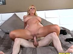 Adorable Molly Rides Like A Crazy Cowgirl On Top Of A Boy's Dick