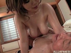 Have fun with this hardcore orgy as these sexy Asian babes are fucked by lucky old men as yu feel your dick getting hard.