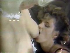 Two sexy and perverted chicks hang out by the pool, get turned on and please each other. Watch these sluts in The Classic Porn sex clips.