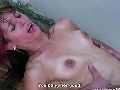 Bitch STOP - Skinny Verca picked up and fucked