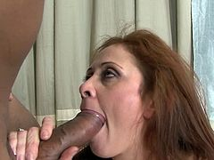 She feels amazing with a huge black snake smacking her juicy twat