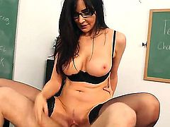 Hot and horny teacher Diana Prince teaching her student how to have sex, the main subjects are: blowjob, oral sex,vaginal penetration and other lovely fucking styles of pleasure