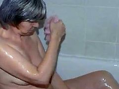 young guy Fucking hardcore old granny on the bed Amazing
